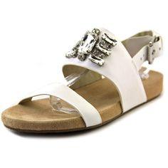 04d69cb5a8e3f2 Michael Michael Kors Women s Luna Flat Slingback Sandals    Don t get left  behind