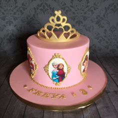 Disney Princesses Cake 3rd Birthday