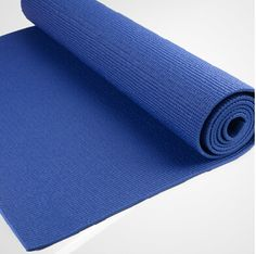 Hot blue PVC YOGA MAT from yogaers.com