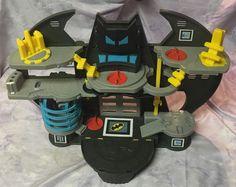Imaginext Batman Batcave playset DC Super Friends Fisher Price Bat Cave toy #FisherPrice