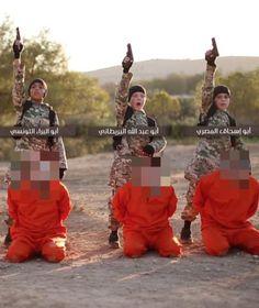 Wieder schickt ISIS ein Propaganda-Video ins Netz, wieder sieht man eine…