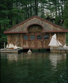 love the old boathouse....