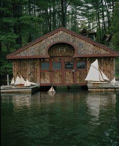 boathouse....