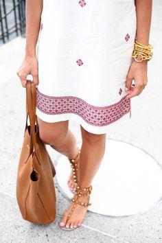 Summer shift dress.