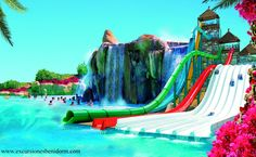 2017 - Aqualandia-in Jesolo, Via Buonarroti, 15, about 64 miles east of Vicenza; open May 27-Sept. 10, 2016; 10 a.m. – 6 p.m.; water games, extreme sports, water gym, animators and clowns for children; bungee jumping; tickets: €32, reduced €28 for children up to 39.37 inches and senior citizens older than 65.