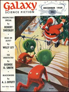 Changing Depictions of Santa Claus in Science Fiction Magazines and Superhero Comic Book Covers | Tor.com