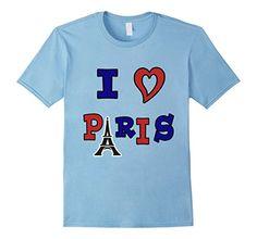 I Love Paris France - Male Small - Baby Blue RangerTees http://www.amazon.com/dp/B017ZGRX24/ref=cm_sw_r_pi_dp_7irswb0GJD9VA