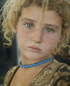to women and girls kidnapped by Islamic State jihadis in Iraq in just a fortnight Yazidi refugee child in Zakho, Iraq.Yazidi refugee child in Zakho, Iraq. Beautiful Eyes, Beautiful People, Moslem, Foto Art, Beautiful Children, People Around The World, Portrait Photography, Culture, Kurdistan