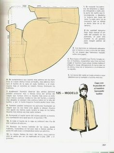 bias cape // This looks like a few adjustments would make it a great bed jacket.Wish I could read this - beautiful cape designCape with gathered shoulders This thing is just cra cra.Cape pattern (in Russian? Costume Patterns, Coat Patterns, Vintage Sewing Patterns, Clothing Patterns, Vogue Patterns, Sewing Hacks, Sewing Tutorials, Sewing Crafts, Sewing Projects