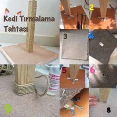 Cat Scratching Post (diy) / Kedi Tırmalama Tahtası (kendin yap)