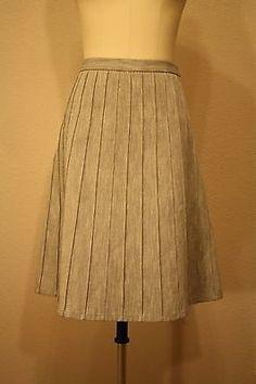 Talbots Black White Red Plaid A Line Wool Blend Skirt Size 18 ...