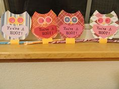you're a hoot valentine!