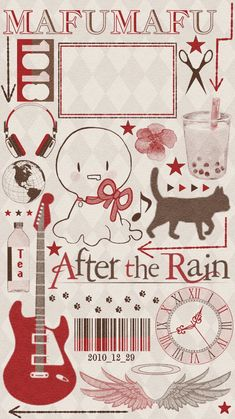 After the rain Kawaii Anime, Anime Chibi, Anime Art, Rain Wallpapers, Cute Cartoon Wallpapers, Vocaloid, Wallpaper Fofos, Cute Art Styles, Amazing Drawings