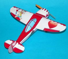 Celebrate Valentines Day with a Cessna CR-3 Racer!