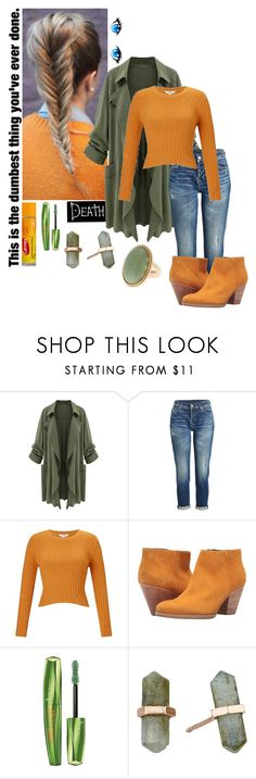 """""""Took in the perfect serenity you give me"""" by frootloop16 ❤ liked on Polyvore featuring 7 For All Mankind, Miss Selfridge, Rachel Comey, Carmex, Rimmel and Shashi"""