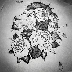 Por Teena Leite  #tattoo #tatuagem #line #tatuagemdelicada #tatuagemfeminina #feminina #gato #cat  #linhafina #fineline #ornamental #ornamentais #love #delicadas #femininas #drawign #draw #desenho #desenhos #flashtattoo #flash #roses #lion #leao #dotwork #blackwork