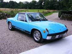 blue porsche 914 - Google Search - This is actually my old car found on a search.
