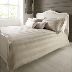 George Home Elegant Living Moon Rock Damask Duvet Set - Double | Bedding | ASDA direct