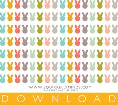 DIY Bunny Tattoo Easter Eggs with Free Printable