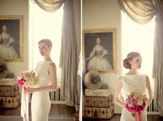 Her Lovely Heart Wedding Photography Shoot at Aynhoe Park (Image: Nick)