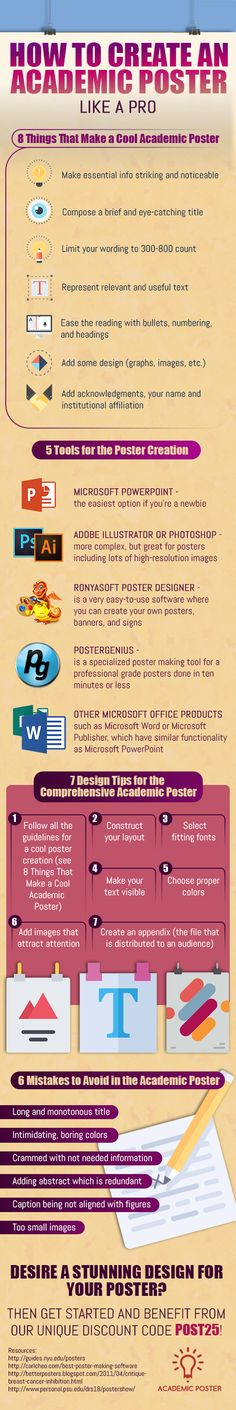 Check out these academic poster design and learn how to make yours professional and interesting http://www.academicposter.net/how-to-create-an-academic-poster-like-a-pro/