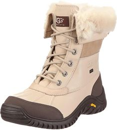 16 styles of chic snow boots for this winter | UGG Women's Adirondack II Winter Boot, Otter, Ladies Winter Boots Waterproof Stylish Winter Boots, Best Winter Boots, Winter Fashion Boots, Winter Gear, Winter Outfits, Cute Snow Boots, Snow Boots Women, Ugg Australia, Boots