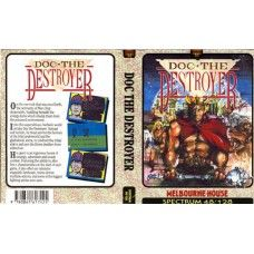 Doc The Destroyer for ZX Spectrum from Melbourne House