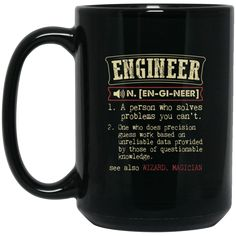 Engineer Mug Engineer Funny Definition Coffee Mug Tea Mug Engineer Mug Engineer Funny Definition Coffee Mug Tea Mug Perfect Quality for Amazing Prices! This ite