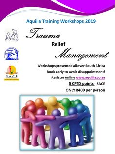 Aquilla Training provides CPD and Webinars for various professional bodies. This is a joint venture between Inter Trauma Nexus, Aquilla Financial Solutions and Aquilla Wellness Solutions. Register Online, Counselling, Trauma, South Africa, Leadership, How To Become, Workshop, Management, Presents