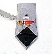 old neckties crafts | Tie Case: Recycle Your Old Ties Into Wallets And Cases. This would be ...