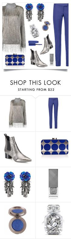 """""""K&K"""" by tina-pieterse ❤ liked on Polyvore featuring Valentino, Pierre Balmain, Kendall + Kylie, Manolo Blahnik, Forest of Chintz, Burberry, Victoria's Secret and MAC Cosmetics"""