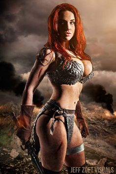 Red Sonja by Claire Anastasia.