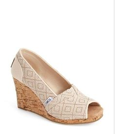 TOMS Wedges -- Perfect for Spring!