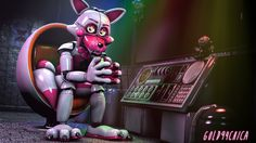 Want to discover art related to funtime_foxy_sister_location? Check out inspiring examples of funtime_foxy_sister_location artwork on DeviantArt, and get inspired by our community of talented artists. Five Nights At Freddy's, Michael Silva, Foxy And Mangle, Freddy 3, Fnaf 5, Funtime Foxy, New Nightmare, Fnaf Sister Location, My Little Baby