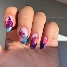 МАНИКЮР СПБ | ВДОХНОВЕНИЕ (@arina_vader) • Фото и видео в Instagram Self Nail, Naild It, Trendy Nails, Hot Nails, Nail Inspo, Beauty Make Up, War Paint, How To Do Nails, Nail Art Designs