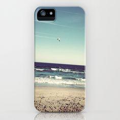 Walking the Beach iPhone Case