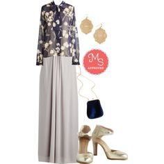 In this outfit: All Award Dress, Whisked Into Elegance Top, Filigree Glee Earrings, Had a Fab Day Bag, Hopeful Heel #maxidress #prom #fancy #floral #spring #elegant #ModCloth #ModStylist