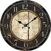 Euro Country Vintage Wall Clock – USD $ 34.99