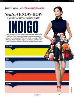 Instyle Magazine - Neutral Know How - INDIGO