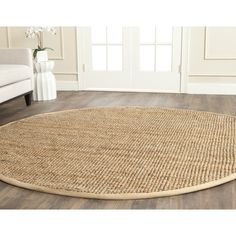 Think coastal living and casual beach house style with rugs so classic they'll even work in the city.  Beachcrest Home's natural fibre rugs are soft underfoot, textural, natural in colour and woven of sustainably-harvested sisal and sea grass, or biodegra