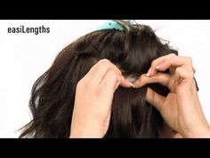 How to take care of easilengths tape hair extensions by easihair.