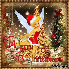 MERRY CHRISTMAS DISNEY/TINKERBELL Animated Picture Codes and ...