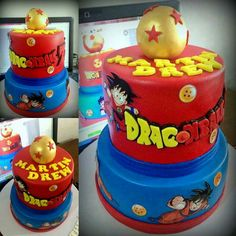 Dragon ballz  Cake  Customized Cake by Cake Break #Dragon ballz themed Cake For orders and reservations contact us at 09063917000