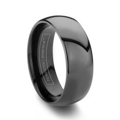 8MM BLACK TUNGSTEN WEDDING BAND    $149.00