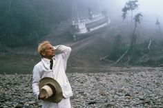 "Klaus Kinski in ""Fitzcarraldo"", directed by Werner Herzog, 1982 Donnie Darko, Youtube Gratis, Cinema Art, Nastassja Kinski, Werner Herzog, Drama Free, Period Dramas, Film Stills, Film Director"
