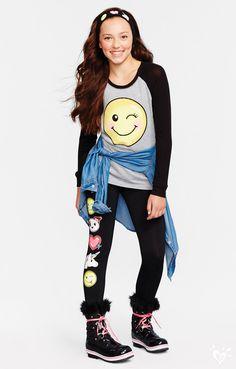 This emoji set is sure to make her smile! Wink, wink!