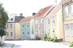 Söderköping Sweden Europe, Sweden Travel, Wonderful Places, Beautiful Places, Stockholm City, Adventure Is Out There, House Colors, Beautiful World, Places To See