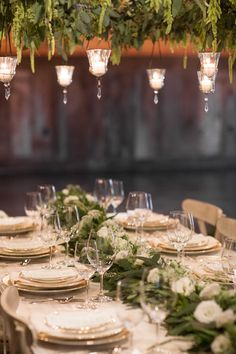 Photography: Retrospect Images What if we ask Vivian about greens for the dance floor and some of these candles?