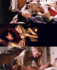 Veronica Mars - Veronica and Logan in bed through the series