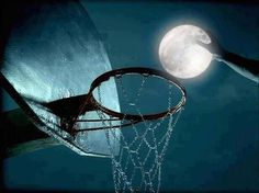Basketball moon.